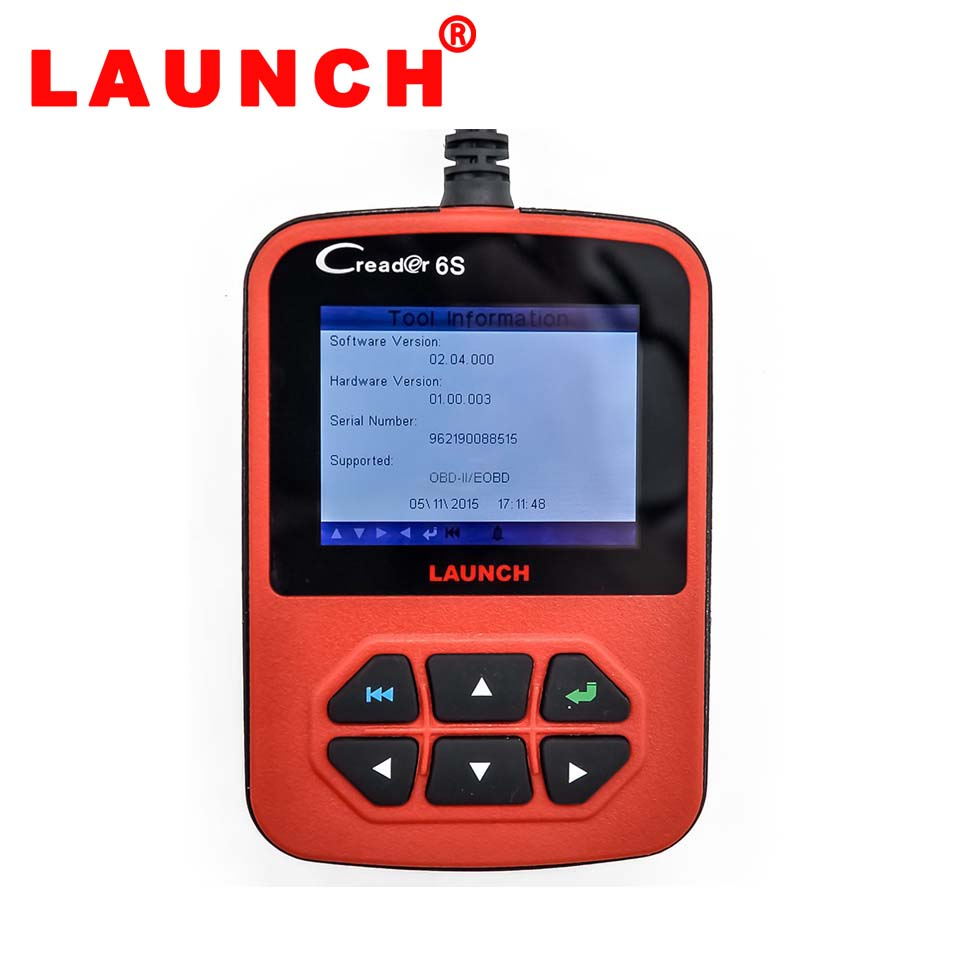 Launch Creader 6S Scanner (Full Colour LCD)