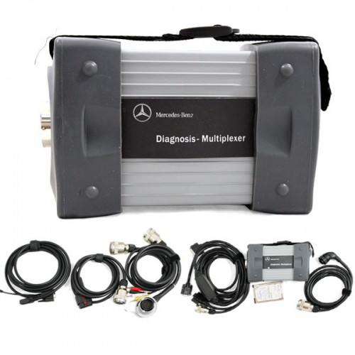 Mb star c3 mercedes multiplexer full kit auto tools sa for Mercedes benz scan tool