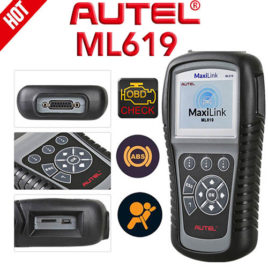 Autel ML619 scanner- Engine, ABS, SRS (Airbags)