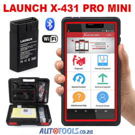 Launch X431 PRO Mini Diagnostic Tool – 2 years free updates
