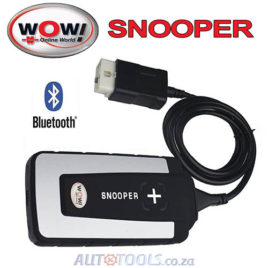WOW Snooper Bluetooth Diagnostic Tool (Cars & Trucks)