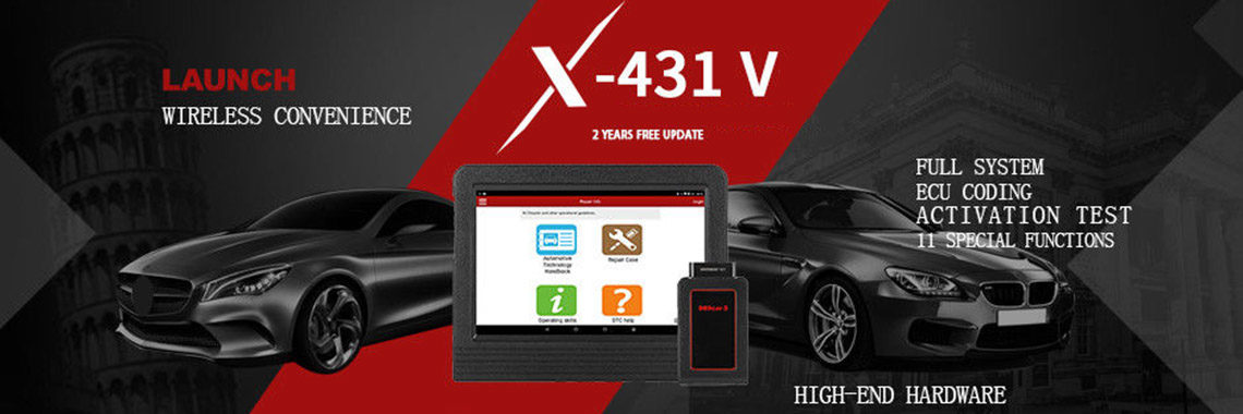 2018 X431 V 8 inch Android 7.1