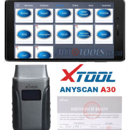 Xtool Anyscan A30 Bluetooth All Systems Diagnostics + 7 inch Lenovo Tablet