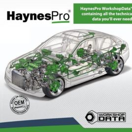 HaynesPro WorkshopData Auto Repair and Service Manuals Software License
