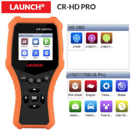 Launch X431 CR-HD PRO Truck Multi System Diagnostic Scanner