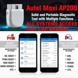 Autel AP200 All Systems, ALL Car Brands, 19 Special Reset functions!