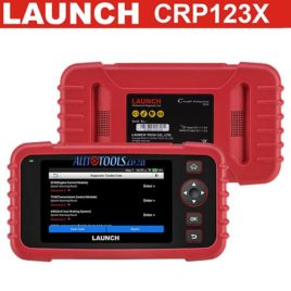 *Launch Creader CRP123X *5″ Touch screen universal scanner