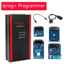iProg+ Programmer – IMMO, Mileage Correction + Airbag Reset