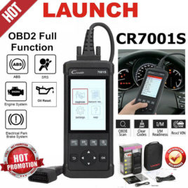 Launch CR7001S -OBDII(Engine), ABS, Airbags, EPB, Oil Service reset