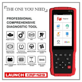 *NEW* Launch Creader CRP429 ALL SYSTEMS Diagnostic Tool – 65 Car Brands – Many Reset Functions