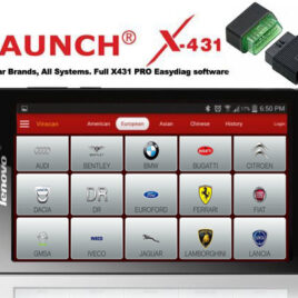 Launch X431 bluetooth dongle +ALL brands +X431 PRO3 V+ 2021 functions