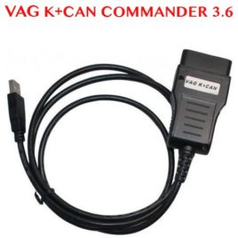 VAG K+CAN Commander V3.6 Mileage, Immobiliser, Key Programmer