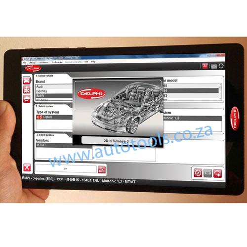 *Delphi DS150E for Cars & Trucks + Windows 8 inch Tablet