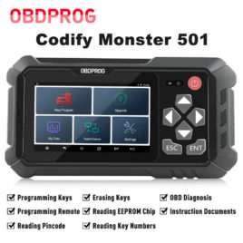 *OBDProg Codify 501 Key Programmer (Also covers VW MQB platform, BMW E & F series)