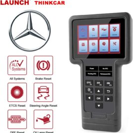 Launch ThinkScan for Benz – All Systems Scanner 5 Reset Service Functions